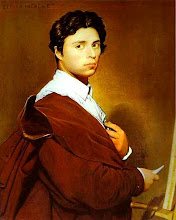 Photo: Jean Auguste Dominique Ingres: Self-portrait