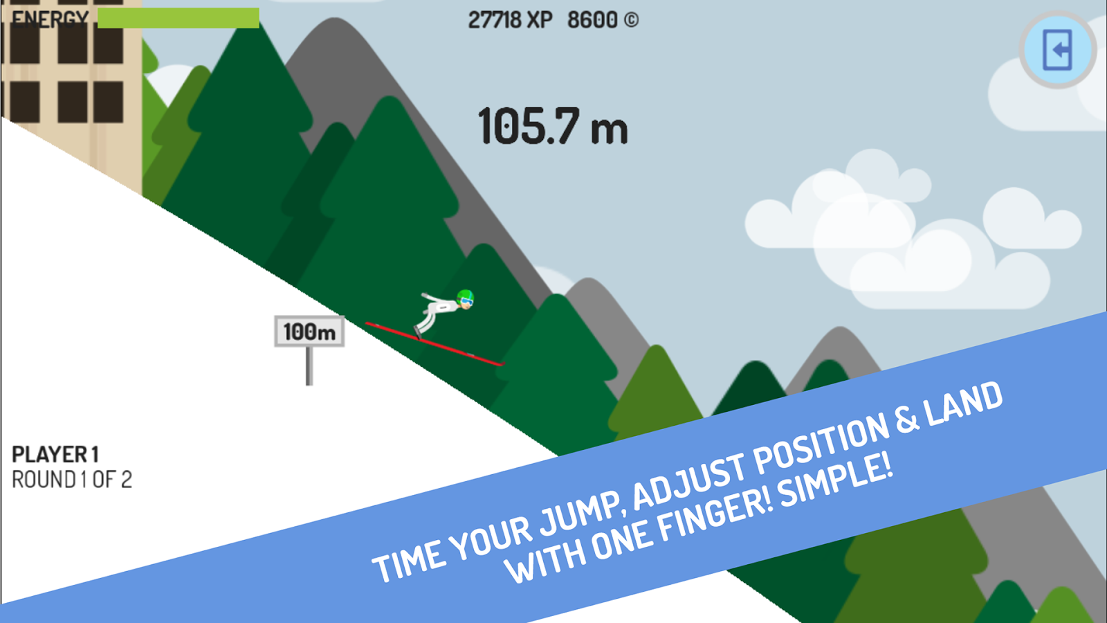 Planica Ski Flying- screenshot