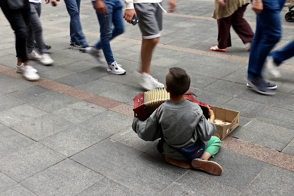 L'indifferenza in movimento.(Sarajevo 2017) di Francerizz