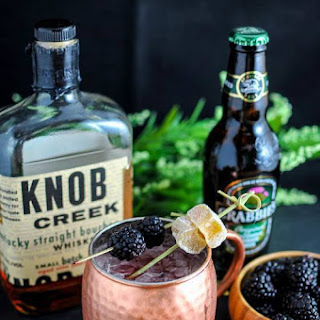 Blackberry Sage Kentucky Mule