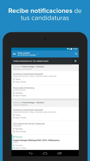 InfoJobs - Job Search  screenshots 22