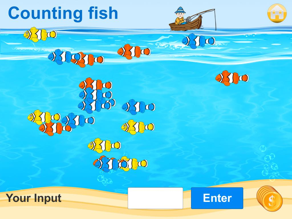 Math Island Preschool 1.Class- screenshot