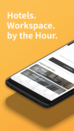 Flow: By-Hour Hotels, Workspace & Staycation Deals ss1