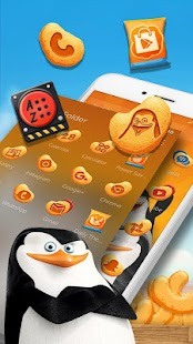 Penguins of Madagascar Cheezy Dibbles Launcher - náhled