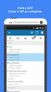 COOSHA: Organizer with flexible sharing- screenshot thumbnail