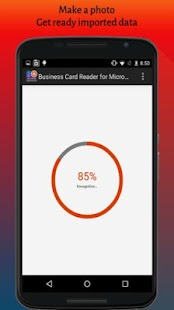 Business Card Reader for MS Dynamics CRM- screenshot thumbnail