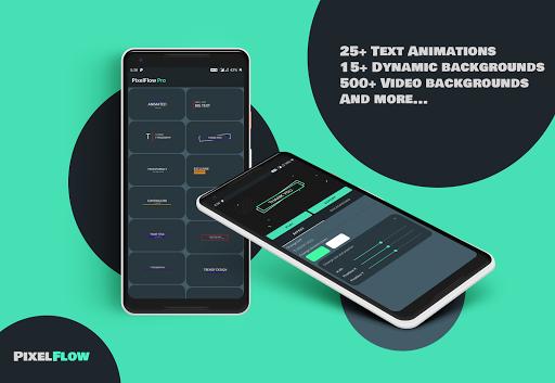 PixelFlow - Intro maker and text animator screenshot 5