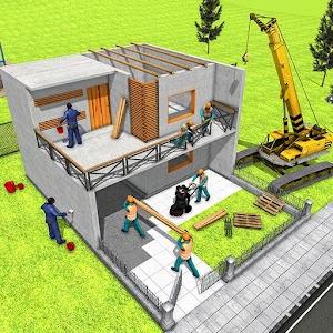 Modern Home Design House Construction Games 3D 1.0.9 by Mizo Studio Inc logo