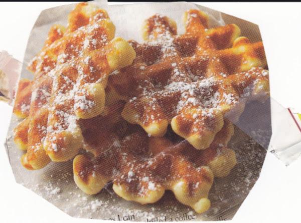 Waffle Cookies Recipe