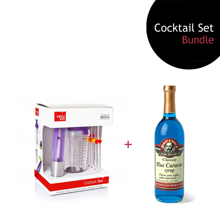 [Bundle] Cocktail Set + Blue Curacao Syrup by ECIATTO GROUP SDN BHD