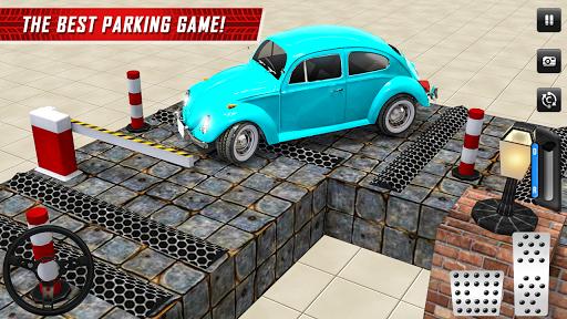 Classic Car Parking Real Driving Test apktram screenshots 11