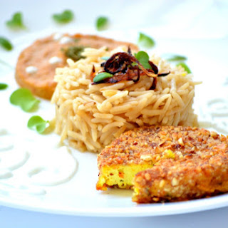 Almond Crusted Flavoured Paneer