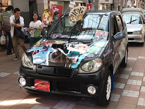 Kei HN22S BターボMT痛車のカスタム事例画像 SHIMISOさんの2018年09月12日20:45の投稿