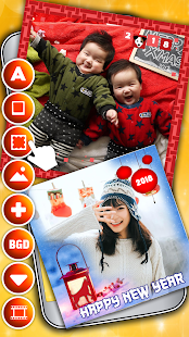 Chinese New Year 2018 Photo Greeting Card Maker - náhled