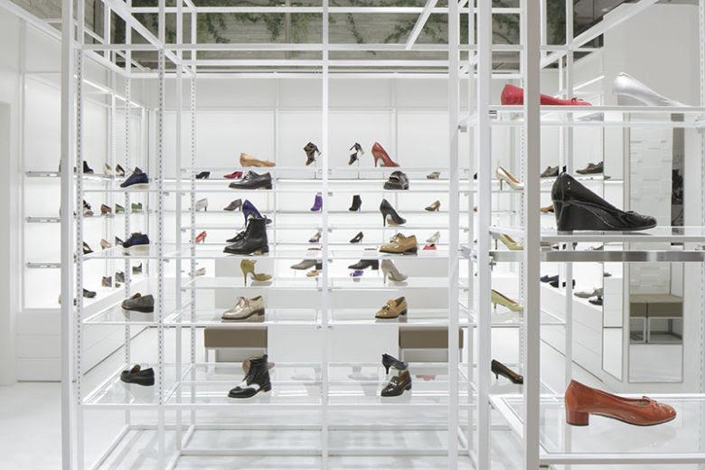Thiết kế shop thời trang nữ - thiết kế shop giày dép tại Hà Nội