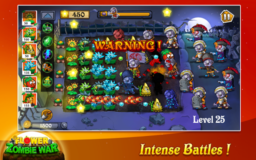 Flower Zombie War 1.1.4.9 screenshots 3