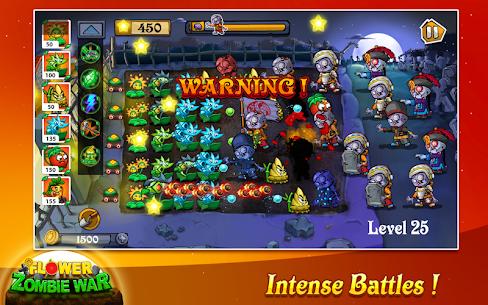 Flower Zombie War 1.1.1 Mod + Data Download 3