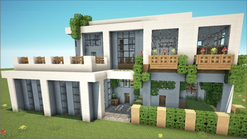 Craft house minecraft android apps on google play for Design semplice casa del fienile