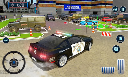 Police Car Parking: Police Jeep Driving Games screenshots 6