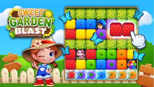 Sweet Garden Blast Game apkmr screenshots 3