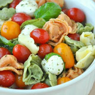 Caprese Tortellini Pasta Salad.