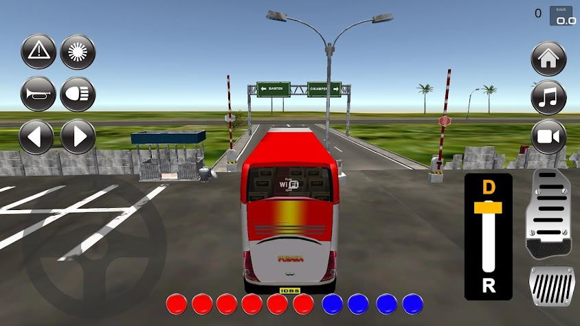 IDBS Bus Simulator Screenshot
