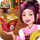 Chinese Food Court Super Chef Story Cooking Games