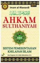 Ahkam Sulthaniyah | RBI