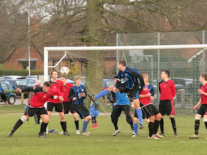 Photo: 16/02/13 v Mulbarton Wanderers (Anglian Combination League Division 3) 1-12 - contributed by Leon Gladwell