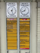 Photo: Year 2 Day 174 -  Old Fashioned Train Departures Board