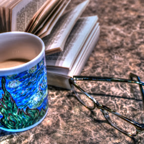 Coffee Time by Randy Burt - Artistic Objects Cups, Plates & Utensils