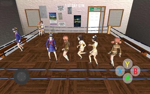 High School Gandere Girl Sim 1.1 screenshots 2