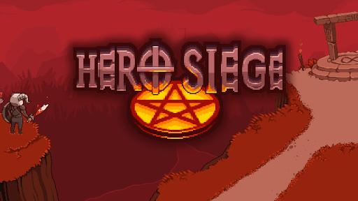 Hero Siege: Pocket Edition Žaidimai Android screenshot