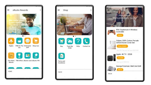 FNB customers in SA can now shop via the banking app.