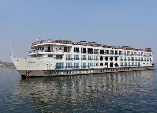 The intimate, contemporary ms Mayfair carries just 150 guests along the Nile River in spacious suites and staterooms.