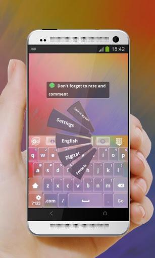 玩個人化App|粉紅色的蜻蜓 GO Keyboard免費|APP試玩