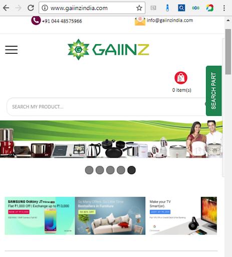 gaiinzindia marketing screenshot 1