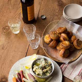 White Bean–Artichoke Hummus with Roasted Garlic