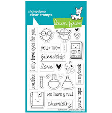 Lawn Fawn Clear Stamps 4X6 - Science Of Love