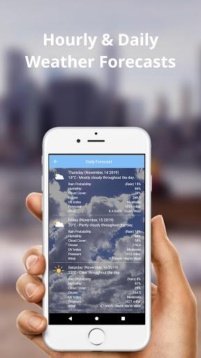 Weather Forecast (Radar Weather Map) screenshot 3