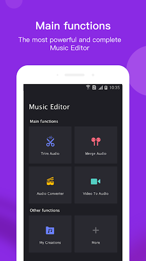 Screenshot for Music Editor Pro in United States Play Store