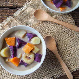 Winter Vegetables in Coconut Milk (Bubur Cha Cha) Recipe