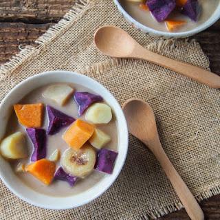 Winter Vegetables in Coconut Milk (Bubur Cha Cha).