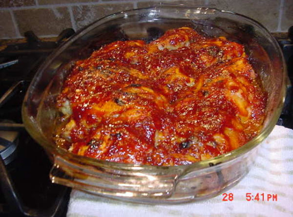 Twice Baked Barbecued Chicken Recipe