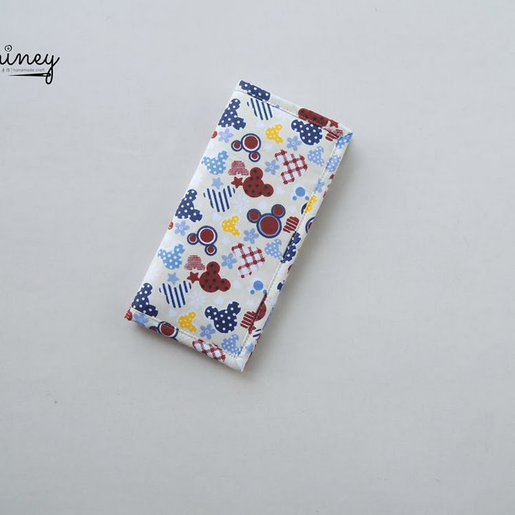 Handmade Long Wallet [Mickeys] by Shiney Craft & Zakka 诗绫手作