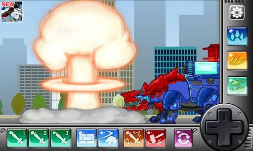 Dino Robot- Tyranno + Tricera2 1.2.1 screenshots 2