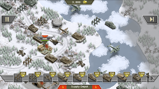1941 Frozen Front – a WW2 Strategy War Game Apk Download For Android and Iphone 6