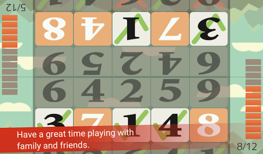 Tap the Numbers (Calculation, Brain training) 3.2.11 screenshots 3