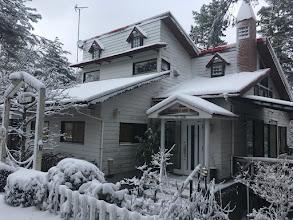Photo: 【風見鶏の家】の雪景色