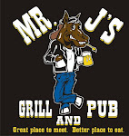 Logo for Mr. J's Grill and Pub